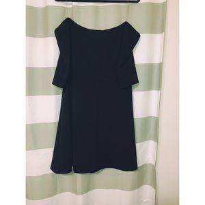 Charlotte Russe Black Off Shoulder Dress